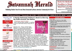 Savanna Herald http://savannahherald.net/a-newly-released-childrens-book-is-stirring-up-puffs-around-the-nation-p6203-91.htm