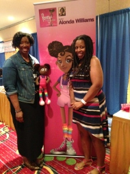 Lovely Aniqua delivered a custom made Penny doll!! She is such a beautiful soul