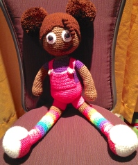 Crocheted Doll created by My Kinda THing