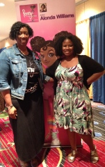 Alonda and Blogger extraordinaire from Tribe called Curl