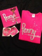 Penny book and silver tee bundle