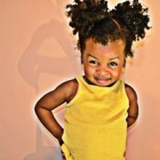 cute puffball girl